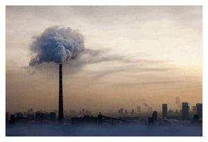 smog jako źródło zanieczyszczeń